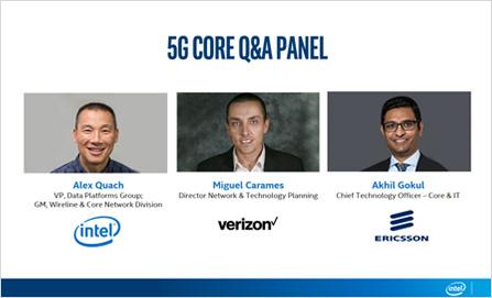 5G Core vSummit Q&A Panel