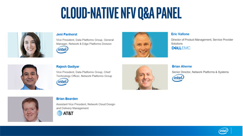 Cloud-Native NFV vSummit Q&A Panel