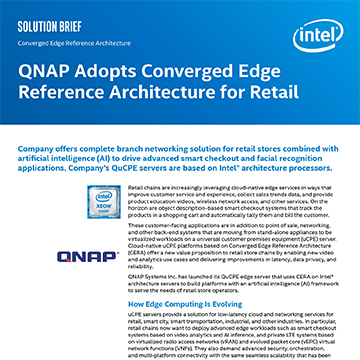 QNAP Adopts Converged Edge Reference Architecture for Retail